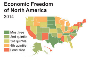 Graphic: Economic Freedom of North America
