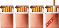 Cigarette graphic