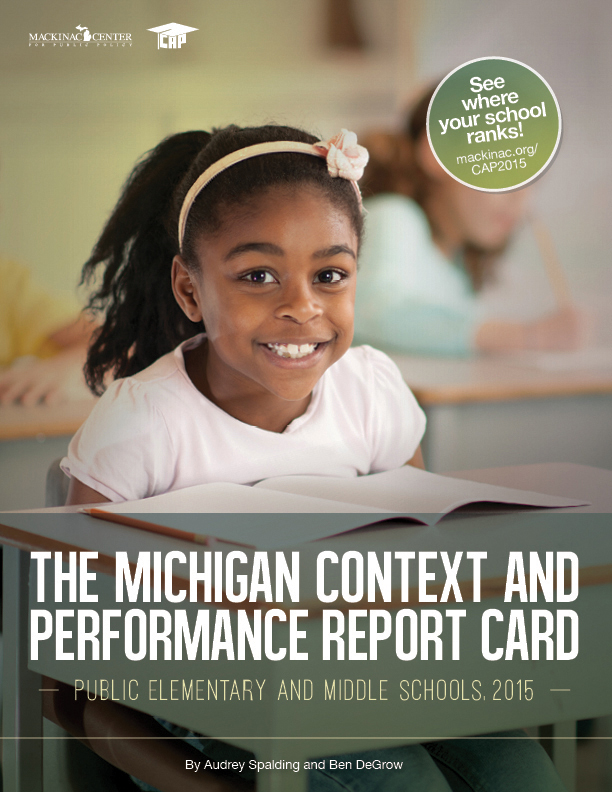 "Images from ""The Context and Performance Report Card: Public Elementary and Middle Schools, 2015"""