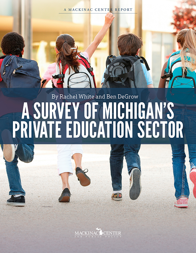 "Images from ""A Survey of Michigan's Private Education Sector"""