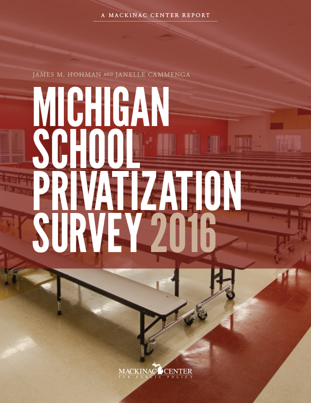 "Images from ""Michigan School Privatization Survey 2016"""