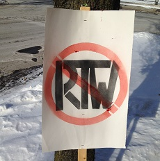 No RTW Poster
