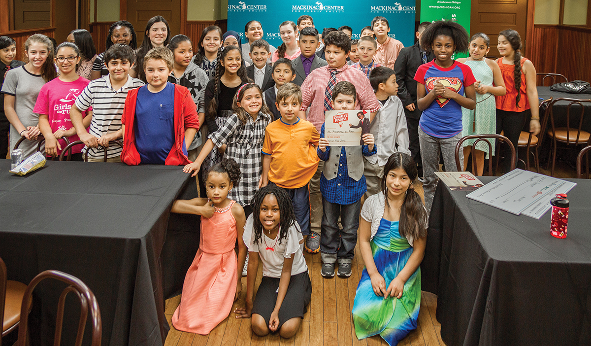 "Images from ""Kids Experience Entrepreneurship at Detroit Children's Business Fair"""