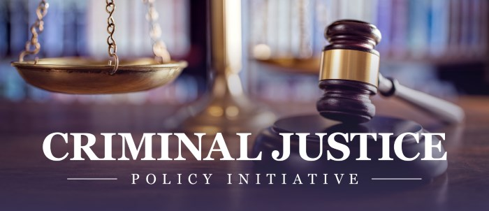 Criminal Justice Policy Initiative