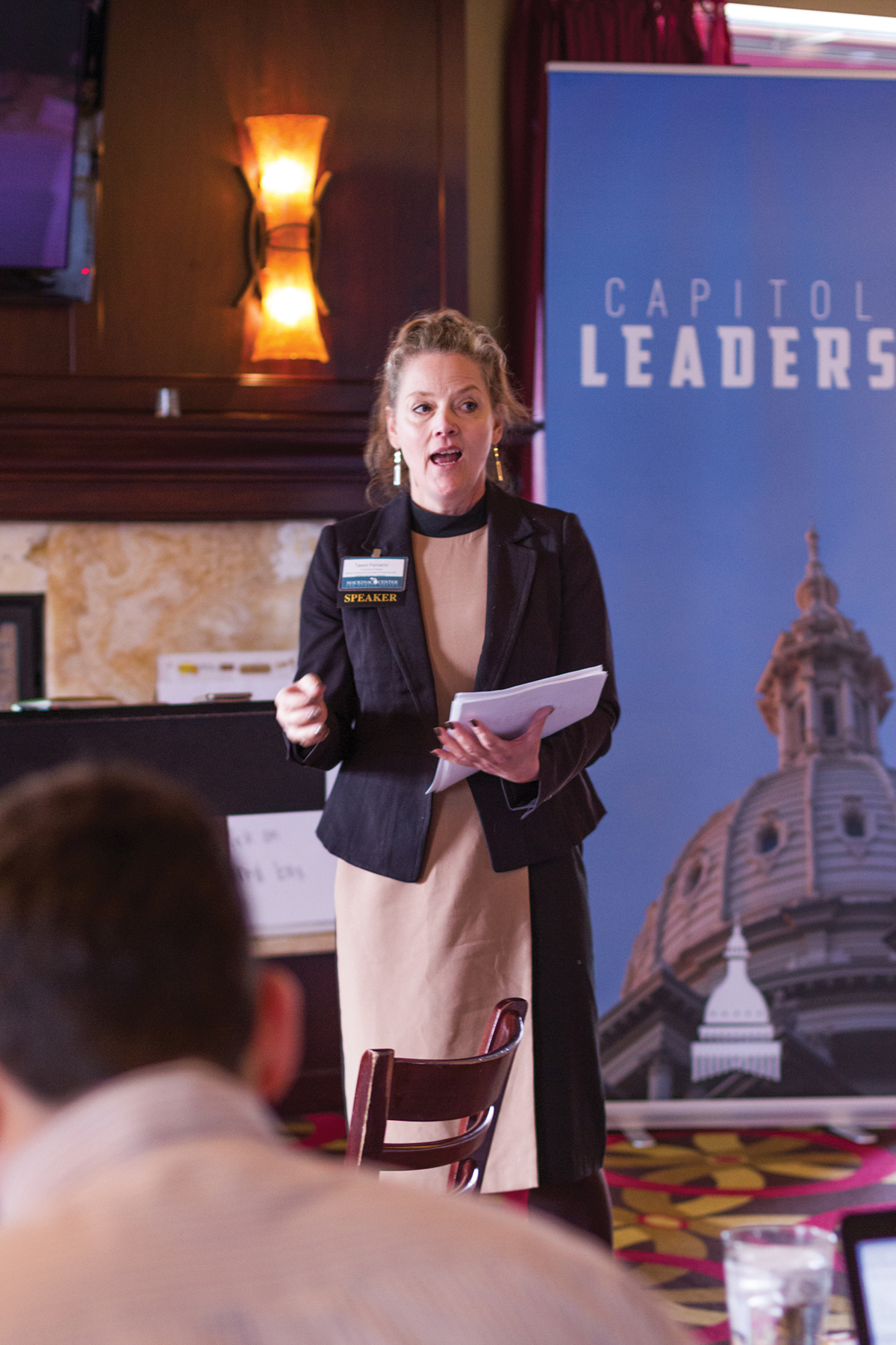 "Images from ""Engaging the Future Capitol Leaders"""