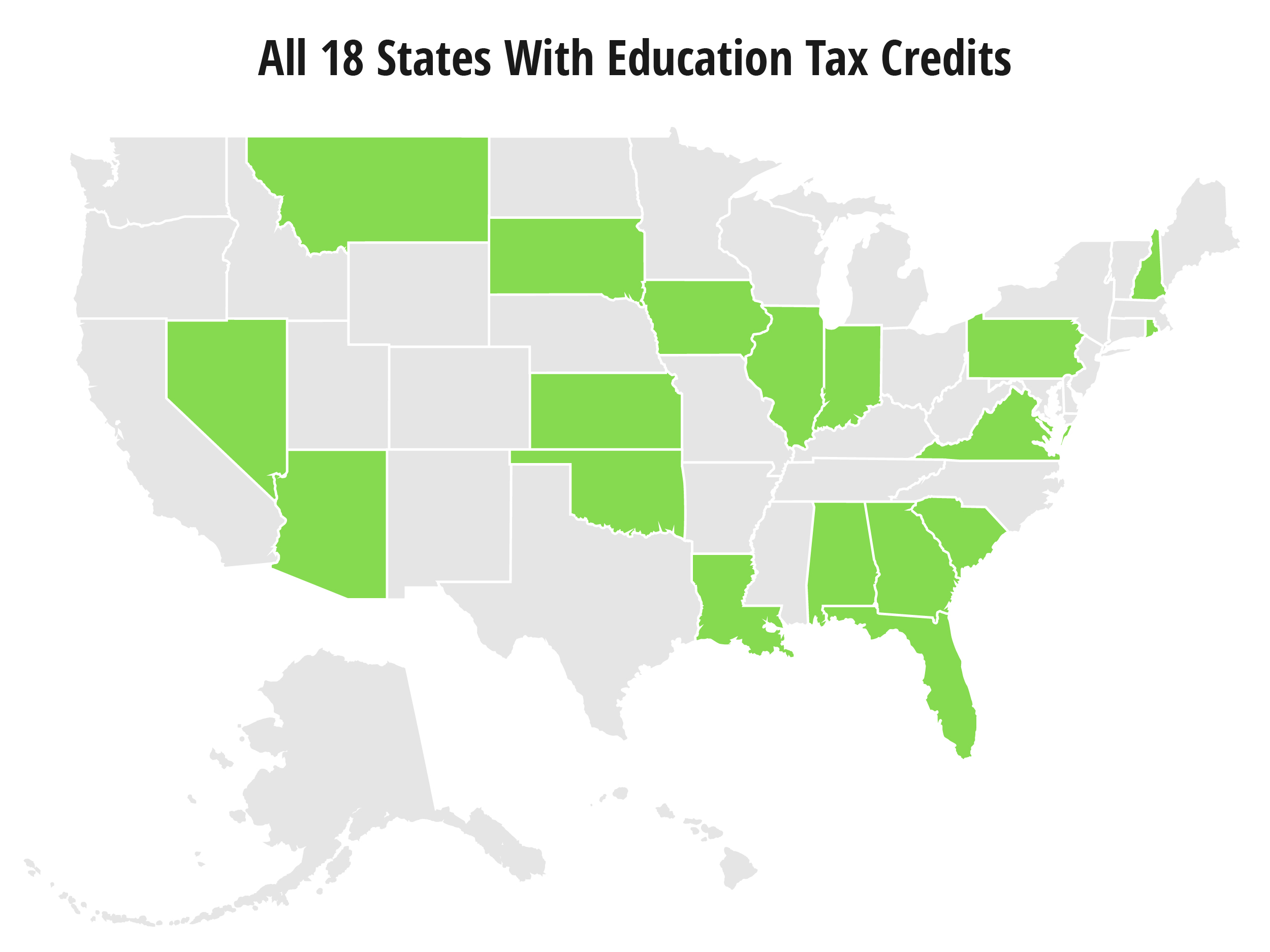 States with Tax Credits