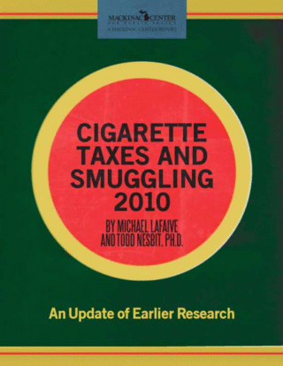Cigarette Taxes and Smuggling 2010
