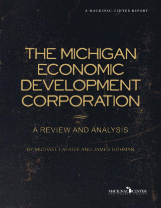 The Michigan Economic Development Corporation: A Review and Analysis