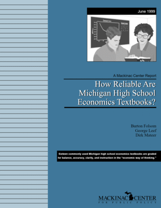 How Reliable Are Michigan High School Economics Textbooks?