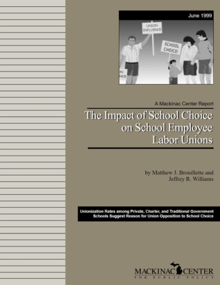 The Impact of School Choice on School Employee Labor Unions