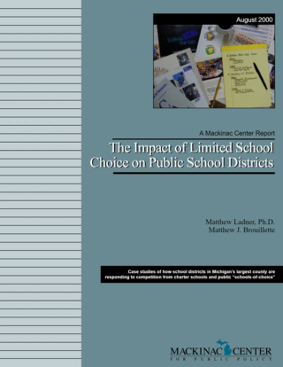 The Impact of Limited School Choice on Public School Districts