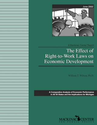 The Effect of Right-to-Work Laws on Economic Development