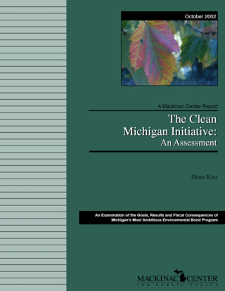 The Clean Michigan Initiative:  An Assessment
