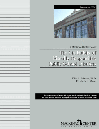 The Six Habits of Fiscally Responsible Public School Districts