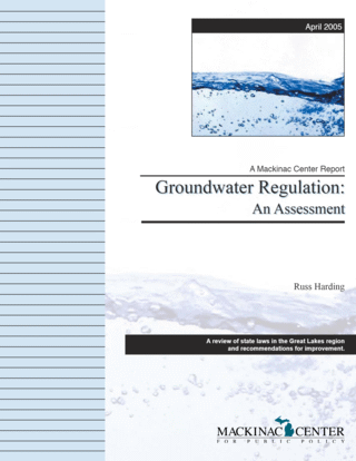 Groundwater Regulation: An Assessment