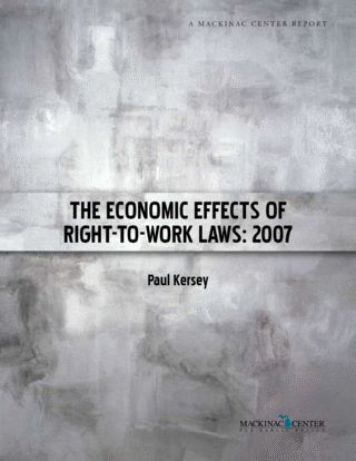 The Economic Effects of Right-to-Work Laws: 2007