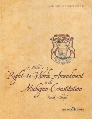 A Model Right-to-Work Amendment to the Michigan Constitution