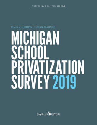 Michigan School Privatization Survey 2019