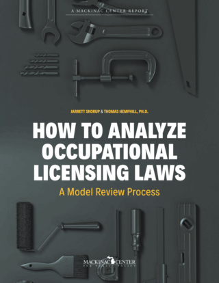 How to Analyze Occupational Licensing Laws