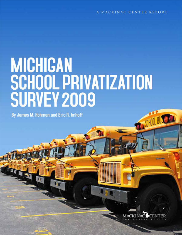 "Images from ""Michigan School Privatization Survey 2009"""