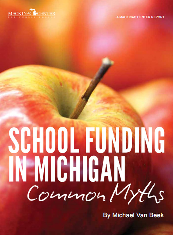 "Images from ""School Funding in Michigan: Common Myths"""