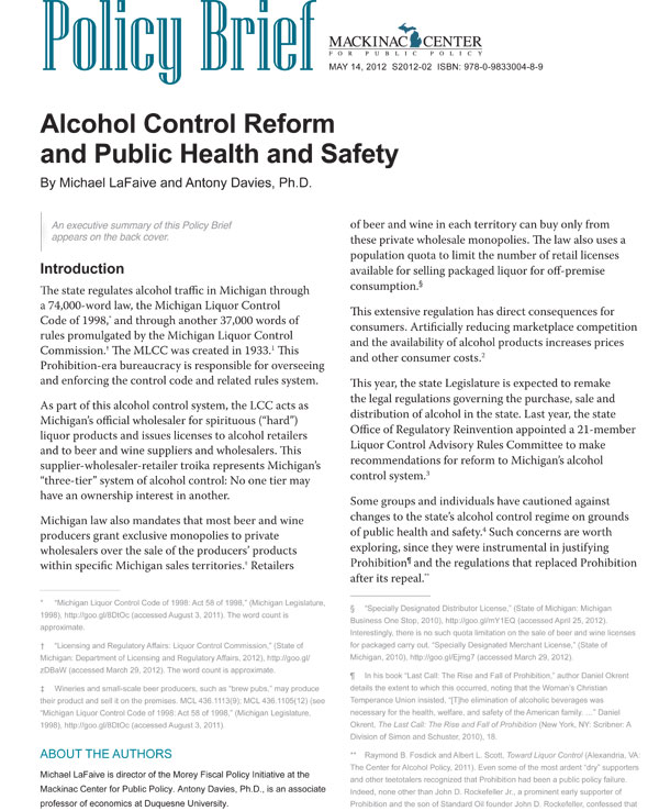 "Images from ""Alcohol Control Reform  and Public Health and Safety"""