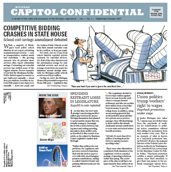 Capitol Confidential Vol. 1 No. 1