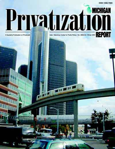 Water Privatization Can Help Detroit Avoid Drowning In Debt Mackinac Center