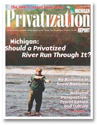 "Images from ""Privatization Michigan: Should a Privatized River Run Through It?"""