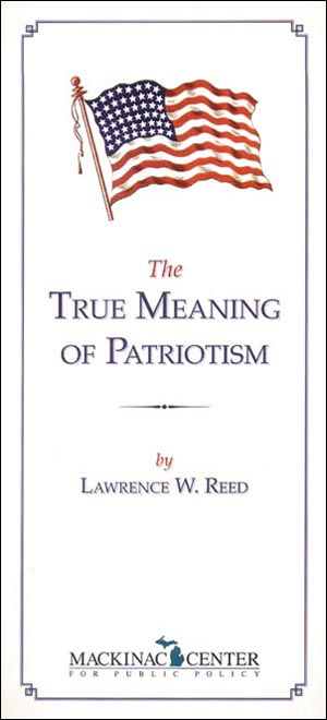 "Images from ""The True Meaning of Patriotism"""
