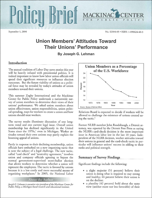 "Images from ""Union Members' Attitudes Toward Their Unions' Performance"""