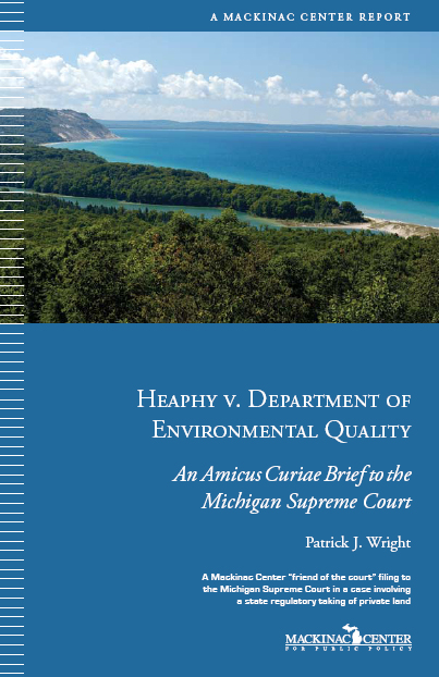 "Images from ""Mackinac Center Amicus Curiae Brief in Heaphy v. Department of Environmental Quality"""