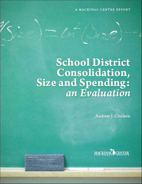 "Images from ""School District Consolidation, Size and Spending: an Evaluation"""