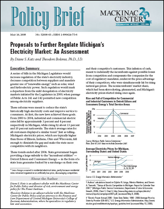 "Images from ""Proposals to Further Regulate Michigan's