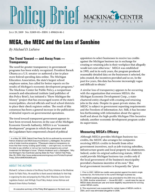 "Images from ""MEGA, the MEDC and the Loss of Sunshine"""