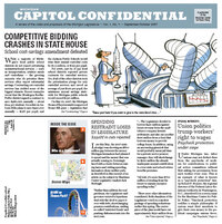 Capitol Confidential Vol. 1, No. 1
