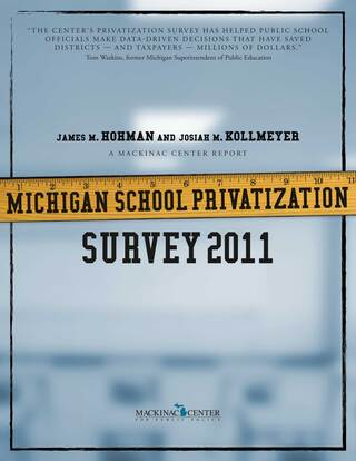 Michigan School Privatization Survey 2011