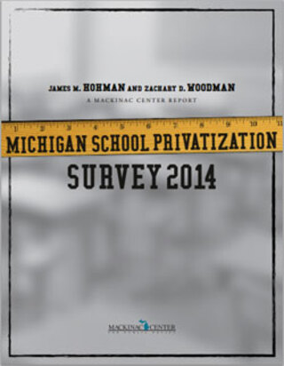 Michigan School Privatization  Survey 2014</br>