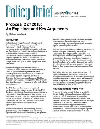 Proposal 2 of 2018:  