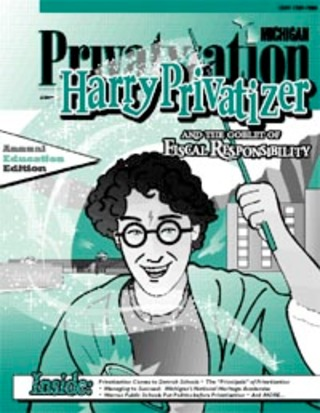 Harry Privatizer	and The Goblet of Fiscal Responsibility