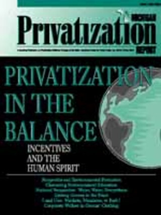 Privatization In The Balance