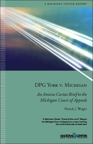Mackinac Center Amicus Curiae Brief in DPG York v. Michigan
