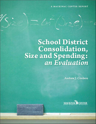 School District Consolidation, Size and Spending: an Evaluation