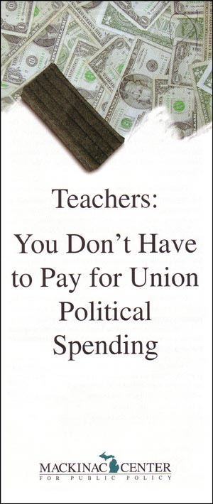 "Images from ""Teachers: You Don't Have to Pay for Union Political Spending"""